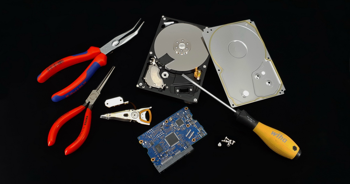Home-made Data Recovery ? You can send your data to the silicon sky forever