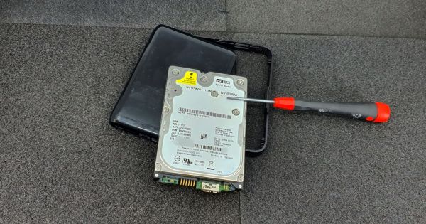 This external drive WDBACX0010BBK-00, respectivelly the drive inside WD10TMVW-11ZSMS1 has already been sent to the silicon sky by someone.