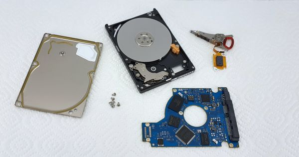 Data recovery from this Seagate ST1000LM014 succeeded in the end