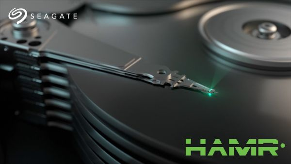 Seagate HAMR - Heat-Assisted Magnetic Recording A laser is used for heating.