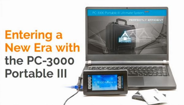We are entering a new era with the PC-3000 Portable III